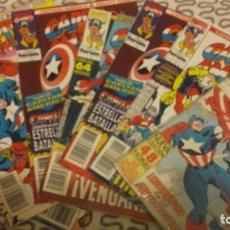 Cómics: LOTE CAPITÁN AMÉRICA Y THOR VOL 2 NºS 2 5 6 8 10 Y 11. Lote 138267054