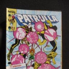 Cómics: LA PATRULLA X. Nº 39. VOL 1. FORUM. Lote 138379762