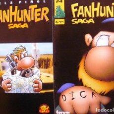 Cómics: LOTE DE 2 COMICS DE FAN HUNTER SAGA. Lote 138529754