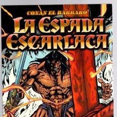Comics : CONAN EL BARBARO. LA ESPADA ESCARLATA. ROY THOMAS - STEFANO RAFFAELE. FORUM, 1999. Lote 138539605