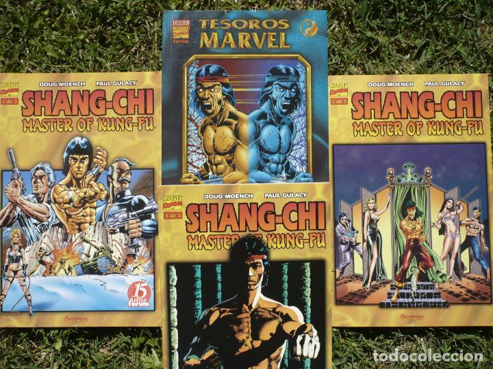LOTE SHANG - CHI MASTER OF KUNG - FU. PAUL GULACY. FORUM, PLANETA DEAGOSTINI. (Tebeos y Comics - Forum - Prestiges y Tomos)