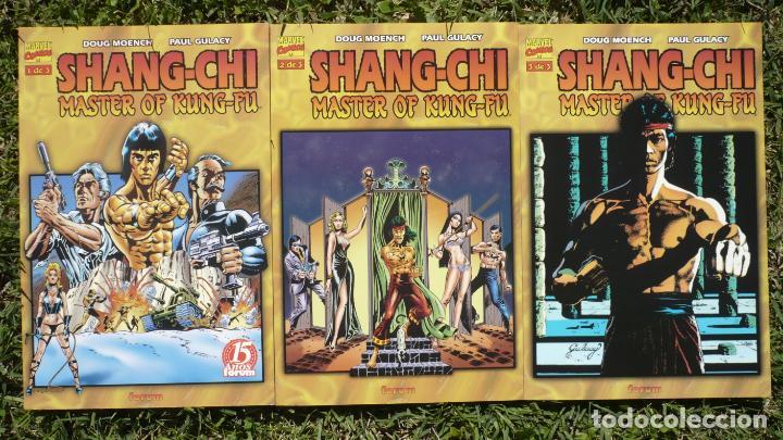 Cómics: Lote Shang - Chi Master of Kung - Fu. Paul Gulacy. Forum, Planeta deAgostini. - Foto 4 - 138589806