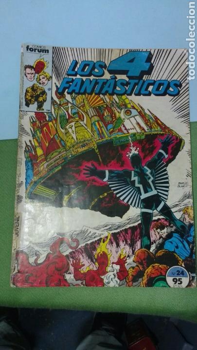 LOS 4 FANTÁSTICOS. FORUM NUM. 24 (Tebeos y Comics - Forum - 4 Fantásticos)