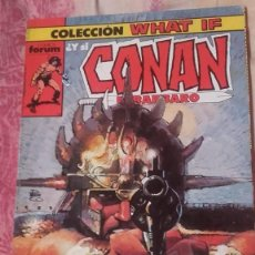 Cómics: CONAN EL BARBARO-COLECCION WHAT IF-RETAPADO-CINCO NUMEROS. Lote 138625170