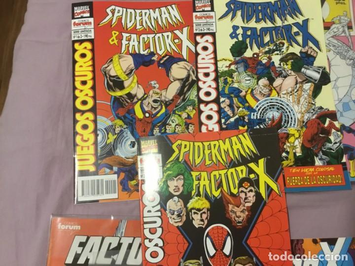 Cómics: Factor X 1 a 85 (menos 68,69,70) + 5 especiales +miniserie juegos oscuros - Foto 5 - 138712058