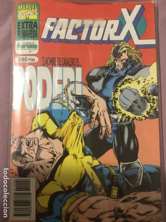 Cómics: Factor X 1 a 85 (menos 68,69,70) + 5 especiales +miniserie juegos oscuros - Foto 7 - 138712058
