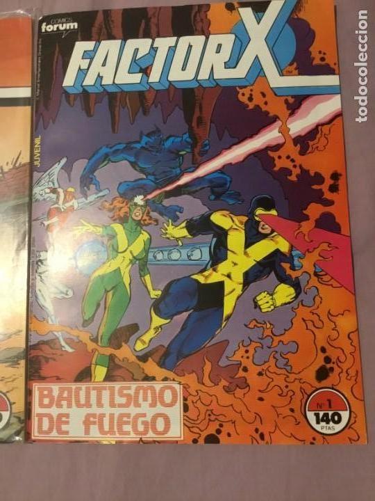 FACTOR X 1 A 85 (MENOS 68,69,70) + 5 ESPECIALES +MINISERIE JUEGOS OSCUROS (Tebeos y Comics - Forum - Factor X)
