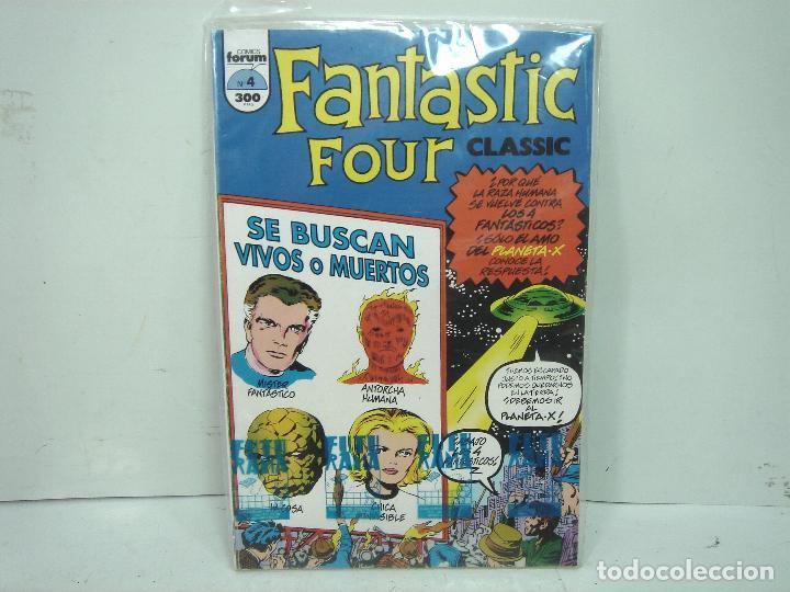 4 FANTASTICOS - FORUM CLASICOS N.4- FANTASTIC FOUR CLASSIC- NUMERO IV COMICS (Tebeos y Comics - Forum - 4 Fantásticos)