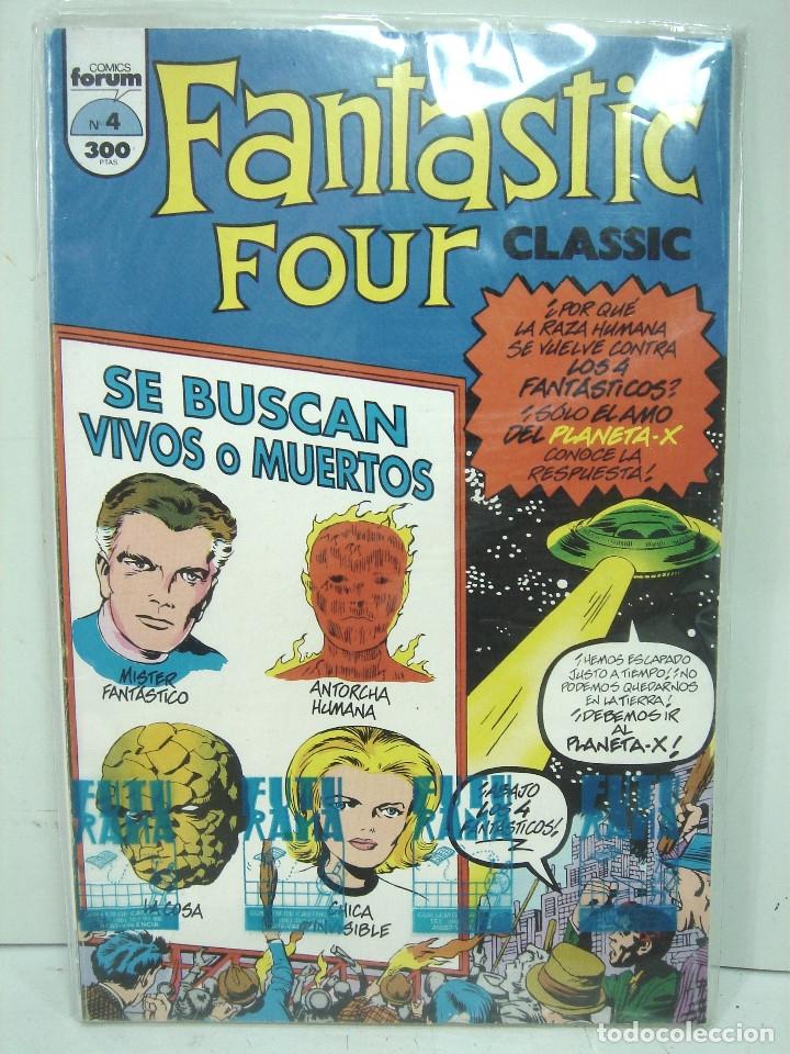 Cómics: 4 FANTASTICOS - FORUM CLASICOS N.4- FANTASTIC FOUR CLASSIC- NUMERO IV COMICS - Foto 2 - 138718558