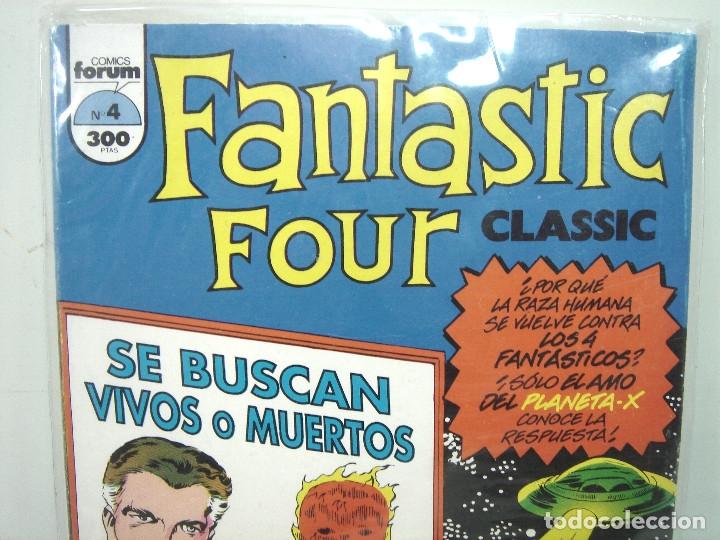 Cómics: 4 FANTASTICOS - FORUM CLASICOS N.4- FANTASTIC FOUR CLASSIC- NUMERO IV COMICS - Foto 4 - 138718558