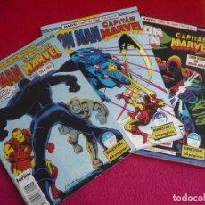 Cómics: IRON MAN VOL. 1 NºS 43, 44 Y 45 ( ONEILL BUSCEMA ) ¡BUEN ESTADO! FORUM TWO IN ONE CAPITAN MARVEL . Lote 138751930