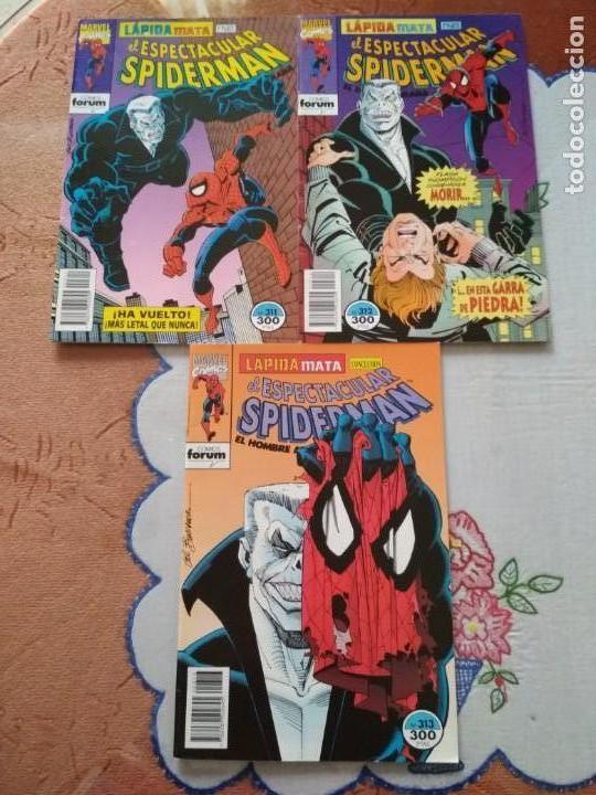Cómics: Spiderman 311 312 y 313 Lapida mata incompletos, leer descripción - Foto 5 - 138774558