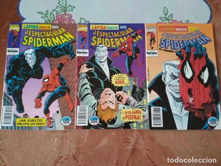 SPIDERMAN 311 312 Y 313 LAPIDA MATA INCOMPLETOS, LEER DESCRIPCIÓN (Tebeos y Comics - Forum - Spiderman)