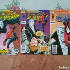 Cómics: SPIDERMAN 311 312 Y 313 LAPIDA MATA INCOMPLETOS, LEER DESCRIPCIÓN. Lote 138774558
