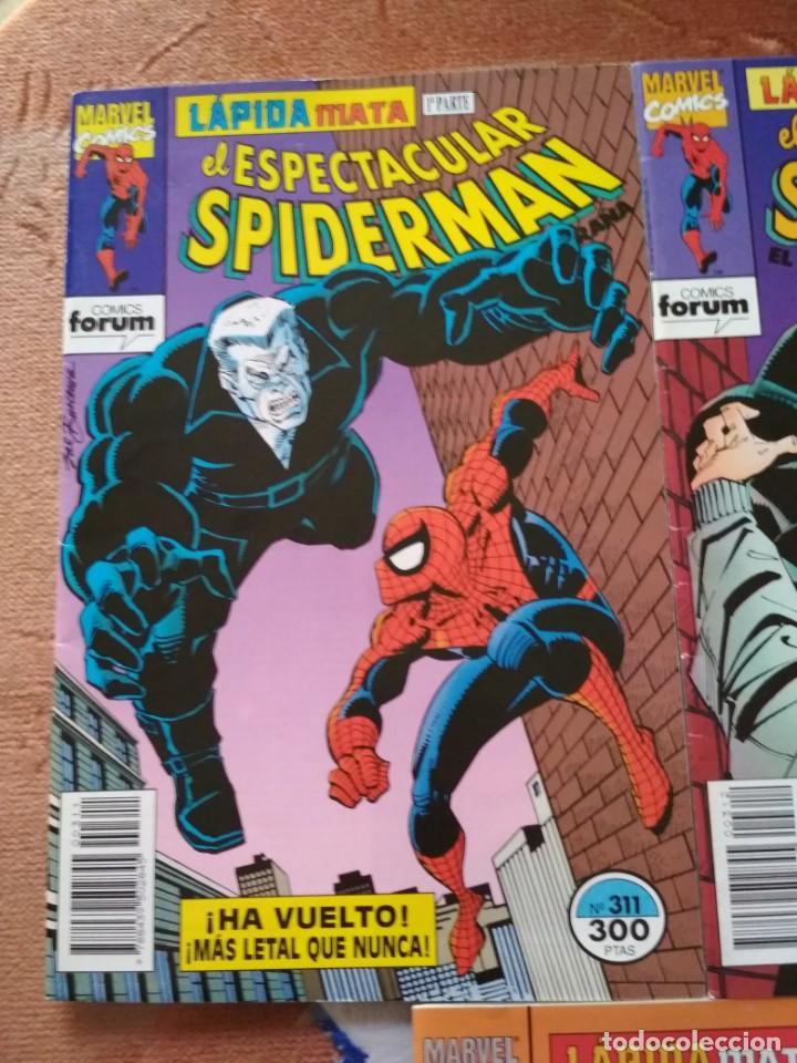 Cómics: Spiderman 311 312 y 313 Lapida mata incompletos, leer descripción - Foto 2 - 138774558