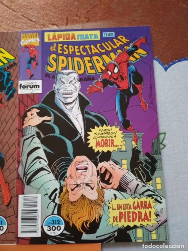 Cómics: Spiderman 311 312 y 313 Lapida mata incompletos, leer descripción - Foto 3 - 138774558