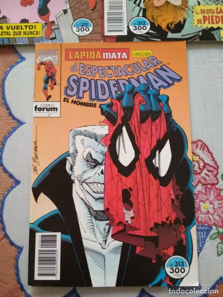 Cómics: Spiderman 311 312 y 313 Lapida mata incompletos, leer descripción - Foto 4 - 138774558