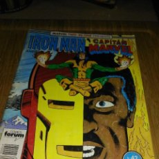 Cómics: IRON MAN CAPITAN MARVEL TWO-IN-ONE Nº 42 FORUM. Lote 138819382