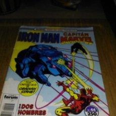 Comics: IRON MAN CAPITAN MARVEL TWO-IN-ONE Nº 44 FORUM. Lote 138819586