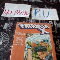 Comics : LA PATRULLA X TOMO 23 PRECINTADO DEL 146 AL 150 FORUM COMICS. Lote 138871077