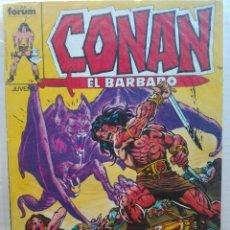 Cómics: RETAPADO CONAN EL BARBARO.PRIMERA EDICIÓN FORUM DEL 81 AL 85. Lote 138873334