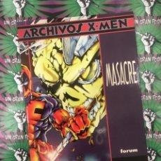 Cómics - MASACRE. ARCHIVOS X-MEN (FORUM) - 138886286
