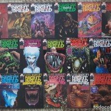 Fumetti: RAZAS DE NOCHE. CLIVE BARKER'S NIGHT BREED. COLECCIÓN COMPLETA DE 16 COMICS. FORUM 1992. Lote 138930574