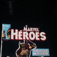Cómics: MARVEL HEROES # 4 KITTY PRYDE AND WOLVERINE FORUM. Lote 138943230