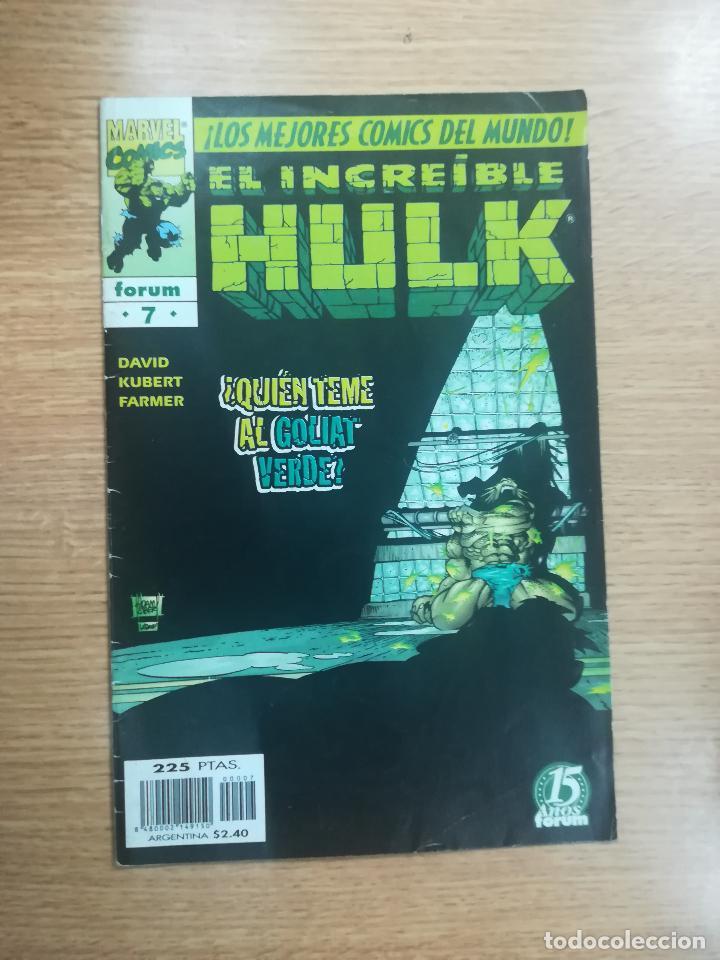 INCREIBLE HULK VOL 1 (HULK VOL 3) #7 (Tebeos y Comics - Forum - Hulk)