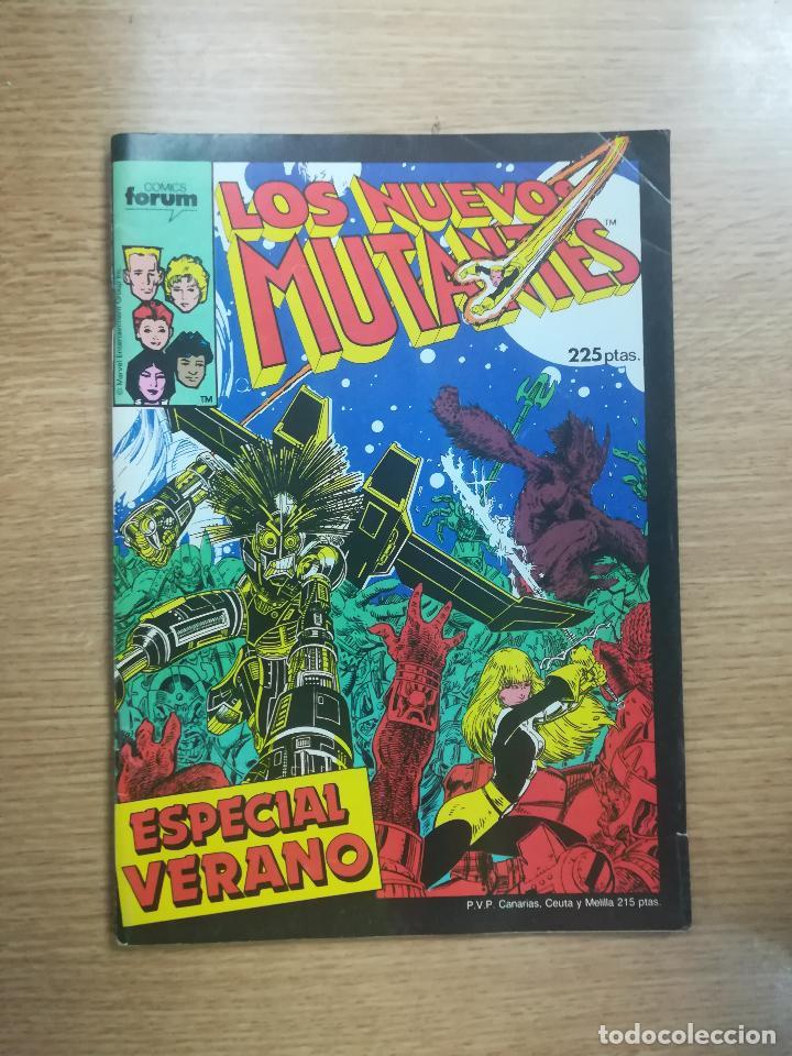 NUEVOS MUTANTES ESPECIAL VERANO 1987 (Tebeos y Comics - Forum - Nuevos Mutantes)