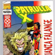 Cómics: LA PATRULLA X. LA ALIANZA FALANGE. LA SIGUIENTE GENERACION 1ª PARTE. Nº 154. FORUM, PLANETA. 1995. Lote 139166426