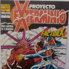 Cómics: COMIC PROYECTO EXTERMINIO, NUMERO 3,MARVEL COMICS,FORUM, STAN LEE. Lote 139172254