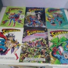 Cómics: LOTE DE COMICS SUPERMAN ANTIGUOS COLECCION COMPLETA. Lote 139210506