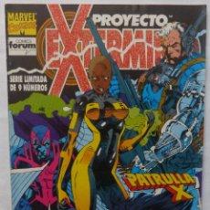 Cómics: COMIC PROYECTO EXTERMINIO, FORUM, STAN LEE ,NUMERO 7, PATRULLA X,1992. Lote 139281018