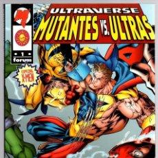 Cómics: ULTRAVERSE. MUTANTES VS. ULTRAS. ESPECIAL X-MEN. Nº 1. FORUM, PLANETA, AÑO 1996. Lote 139302545