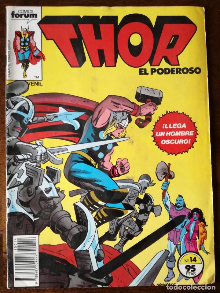 Cómics: 4 comics Forum Thor-todopoderoso v 1 nº 1-3-14-17 de Marvel Comics Group 1983 nuevos - Foto 4 - 119944895