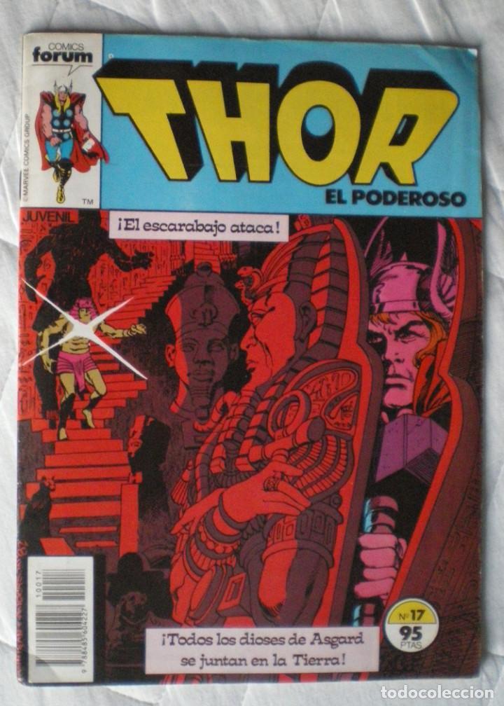 Cómics: 4 comics Forum Thor-todopoderoso v 1 nº 1-3-14-17 de Marvel Comics Group 1983 nuevos - Foto 2 - 119944895