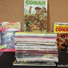 Cómics: LOTE 56 COMICS LA ESPADA SALVAJE DE CONAN SERIE ORO. Lote 139414482
