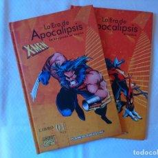 Cómics: LOTE X-MEN LA ERA DE APOCALIPSIS TOMOS. Lote 139442034