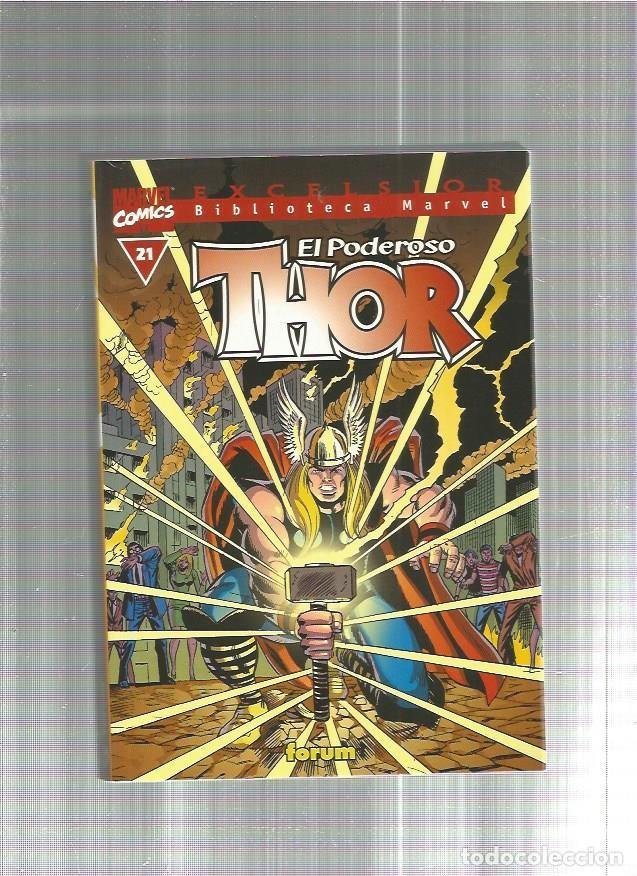 BIBLIOTECA MARVEL THOR 21 (Tebeos y Comics - Forum - Thor)
