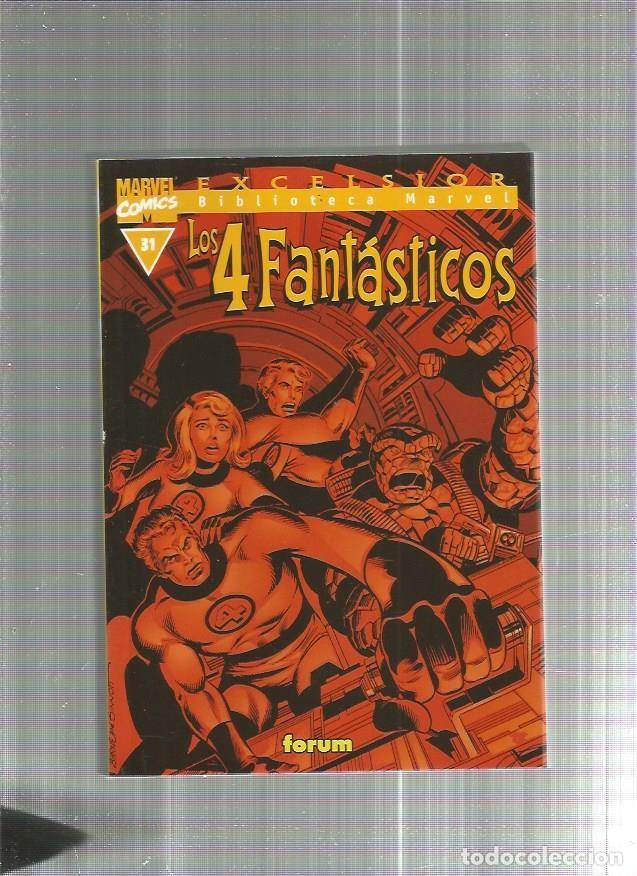 BIBLIOTECA MARVEL 4 FANTASTICOS 31 (Tebeos y Comics - Forum - 4 Fantásticos)