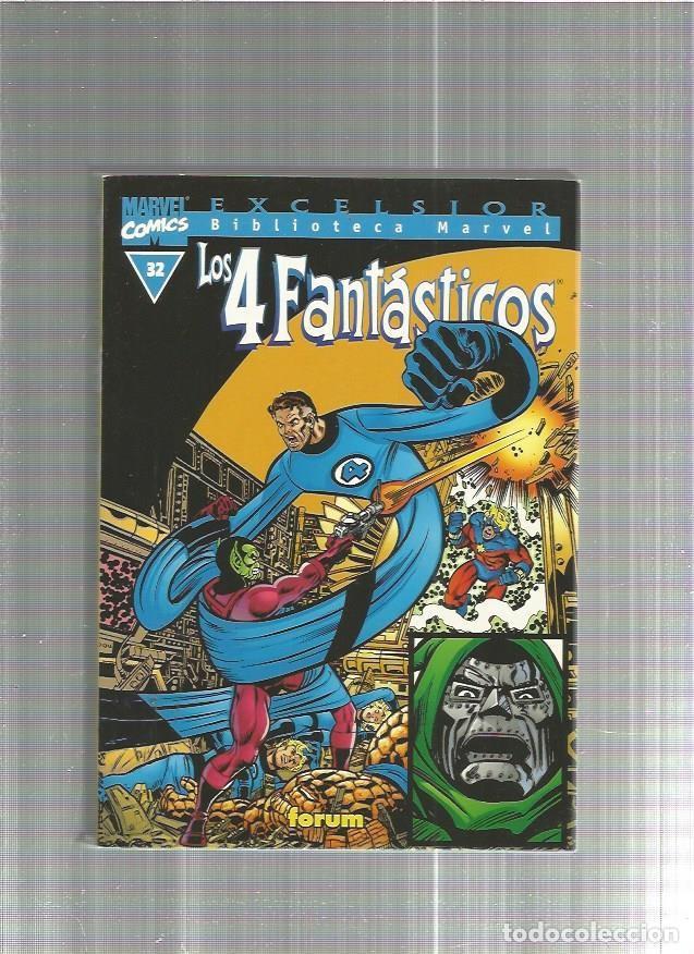 BIBLIOTECA MARVEL 4 FANTASTICOS 32 (Tebeos y Comics - Forum - 4 Fantásticos)