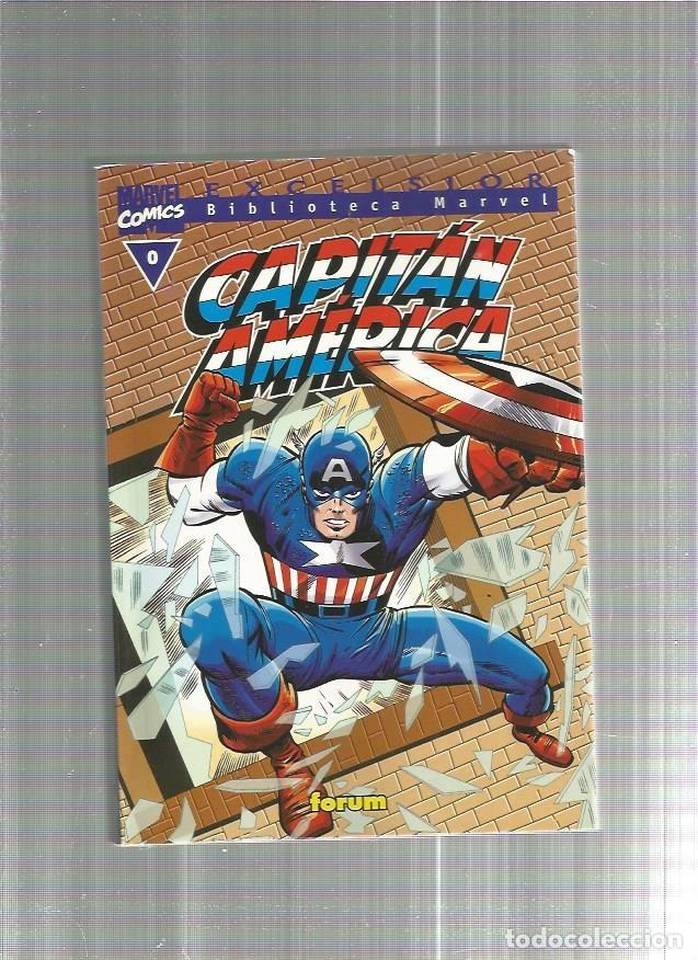 BIBLIOTECA MARVEL CAPITAN AMERICA 0 (Tebeos y Comics - Forum - Capitán América)