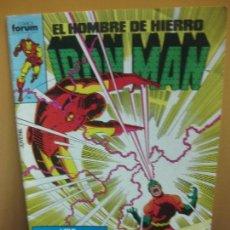 Cómics: IRON MAN. EL HOMBRE DE HIERRO. Nº 11. FORUM 1986.. Lote 139607874
