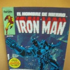 Cómics: IRON MAN. EL HOMBRE DE HIERRO. Nº 10. FORUM 1986.. Lote 139607938