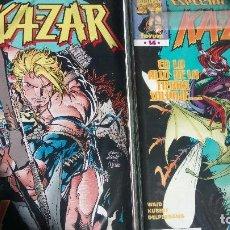 Cómics: KAZAR ETAPA MARK WAID ANDY KUBERT COMICS FORUM. Lote 139654090