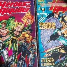 Cómics: HEROES DE ALQUILER COMPLETA COMICS FORUM. Lote 139654562