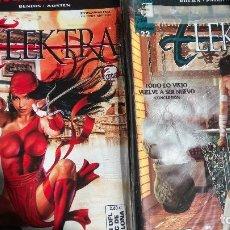 Cómics: ELEKTRA MARVEL KNIGHTS Nº 1 A 22 COMICS FORUM. Lote 139655658