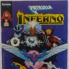 Cómics: COMIC PATRULLA X-INFERNO,COMICS FORUM,AÑO 1990,NUMERO 15 ,CO-PROTAGONIZADO POR FACTOR-X. Lote 139729710