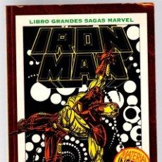 Cómics: IRON MAN. MUERTE EN EL CIBERESPACIO. LIBRO GRANDES SAGAS MARVEL. STAN LEE. FORUM, PLANETA, 1995. Lote 139830321